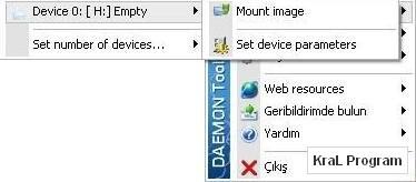 Daemon Tools 4.35.6 Sanal disk olusturma programi