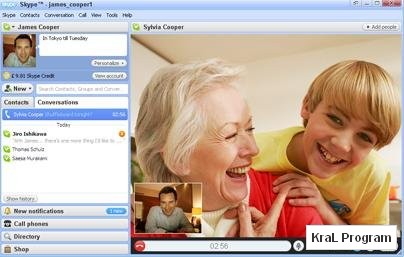 Skype 4.2.0.158 Sesli ve goruntulu iletisim programi