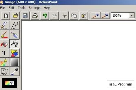 HeliosPaint 1.4.3 Paint benzeri ucretsiz program