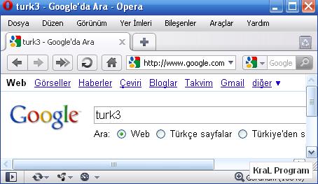 Opera 10.52 Build 3370 Internet tarayicisi