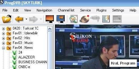 ProgDVB 6.34.2 Dijital Tv karti programi