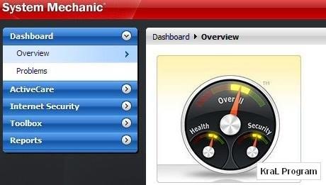 System Mechanic 9.5.8.2 Bilgisayar hizlandirma programi