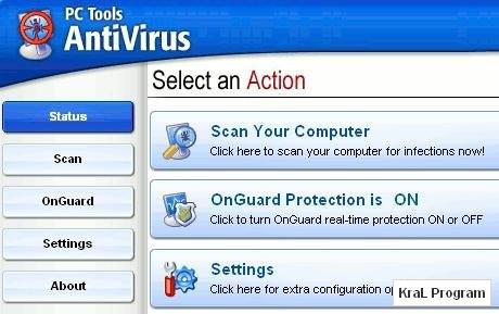 PC Tools AntiVirus 7.0.545 Ücretsiz anti-virüs yazılımı