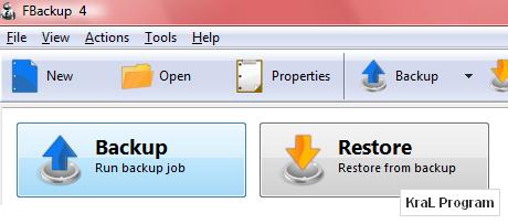 FBackup 4.4.207 Dosya yedekleme programı