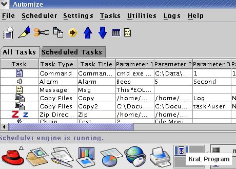 Automize 9.01 Windows görev zamanlayıcısı