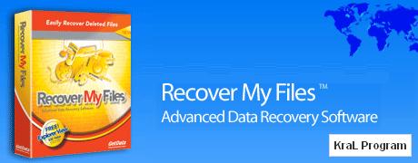 Recover My Files 4.6.0.785 Veri kurtarma programı