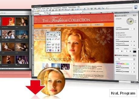 StudioLine Web 3.70.8.0 Web sitesi yapan program