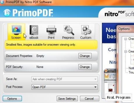 PrimoPDF 5.1.0.2 Ücretsiz pdf oluşturucu