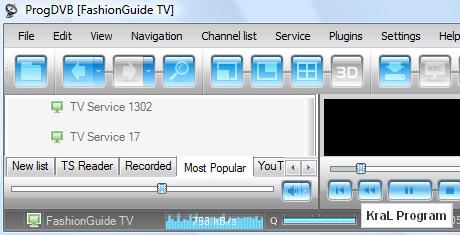 ProgDVB 6.46.2 Tv izleme yaz�l�m�