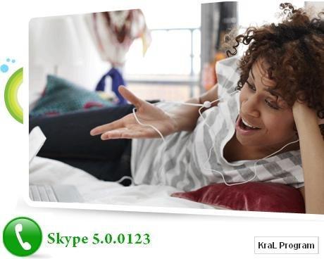 Skype 5.0.0.123 Görüntülü ve sesli sohbet programı