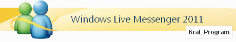 Windows Live Messenger 2011 Türkçe
