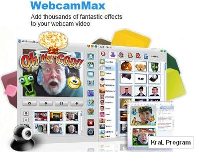 Webcam Max 7.2.2.2 Kamera program�