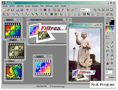 PhotoFiltre 6.5.1 Foto�raf d�zenleme program�