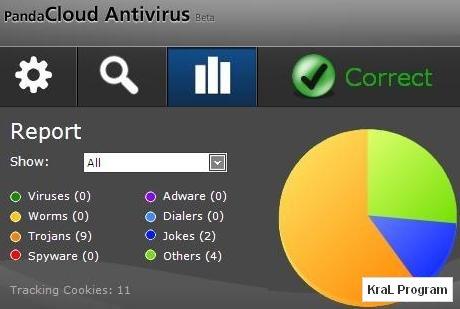 Panda Cloud Antivirus 1.4 Ücretsiz antivirüs programı