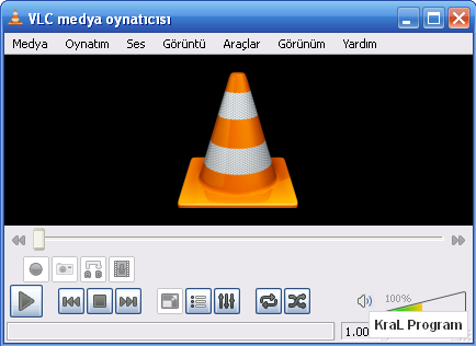 VLC Media Player 1.1.7 Video izleme programı