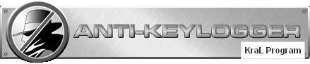 Anti-keylogger 10.1.0 Keylogger silme programı