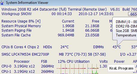 SIV - System Information Viewer 4.16 Sistem bilgilendirici