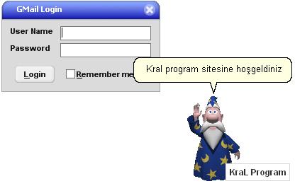 Gmail Notifier - Google e-mail kontrol programı