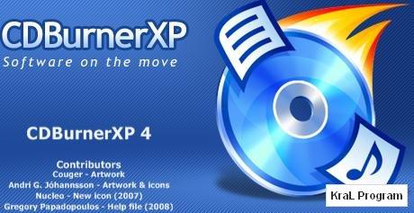 CDBurnerXP 4.3.8.2523 Dvd - Cd yazma programı