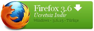 Mozilla Firefox 4.0 RC1 - 3.6.15 İnternet tarayıcısı
