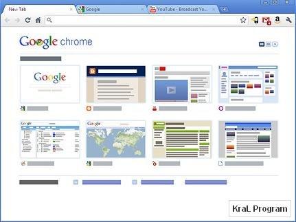 Google Chrome 11.0.686.3 İnternet tarayıcısı