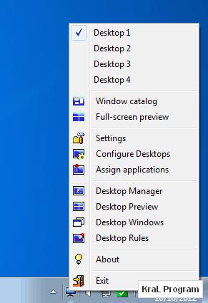 Dexpot 1.6.6 Sanal Masaüstü Yöneticisi indir